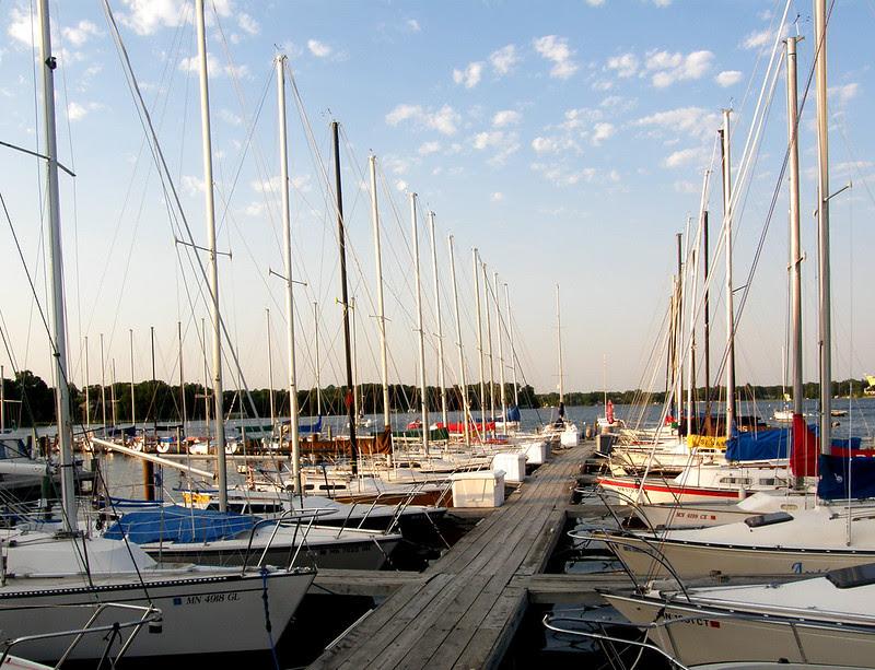 Wayzata Yacht Club Dock June 27
