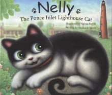 Nelly The Ponce Inlet Lighthouse Cat