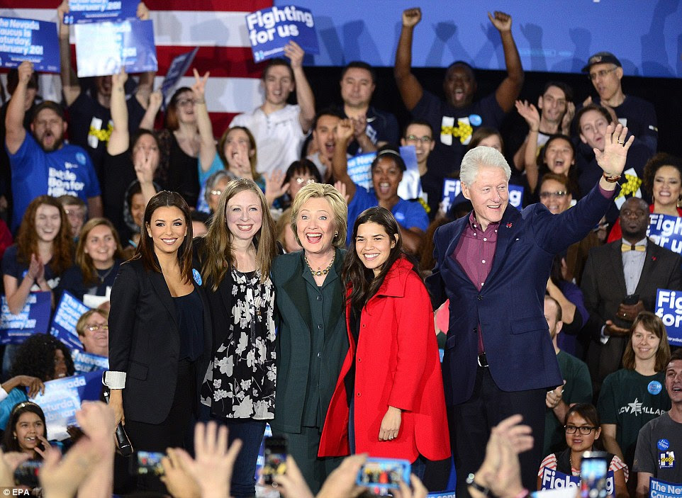 Image result for america ferrera get out the vote event