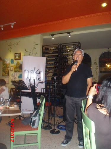 Maestro Ryan Cayabyab at PhilPOP Bloggers Night Event