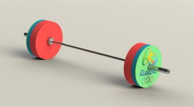 SOLIDWORKS Simulation - Olympic Weightlifting