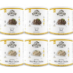 Augason Farms Freeze Dried Meat Variety Kit 6-Pack, Brown