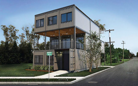 St. Louis City's First Shipping Container Home Planned in Old North - nextSTL