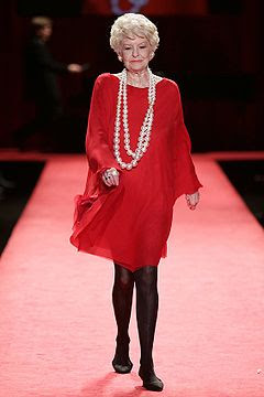 Elaine Stritch, Red Dress Collection 2006