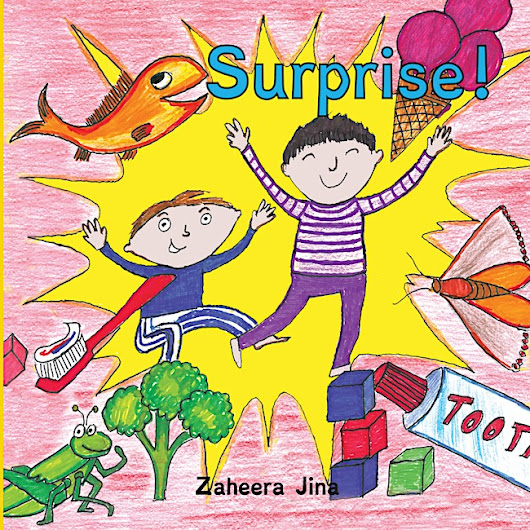 Surprise by Zaheera Jina : Book Review - Jeddah Mom