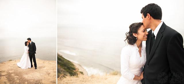 rancho palos verdes cliffs wedding