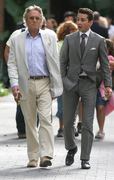 Shia LaBeouf - 'Wall Street 2' Films at the Zoo 2
