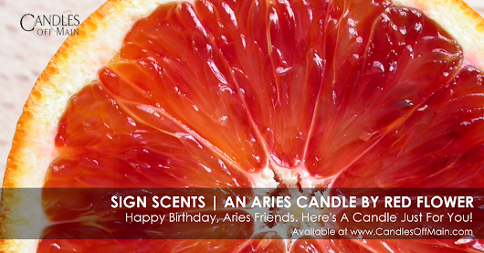Sign Scents | An Aries Candle by Red Flower - Bon Bougie