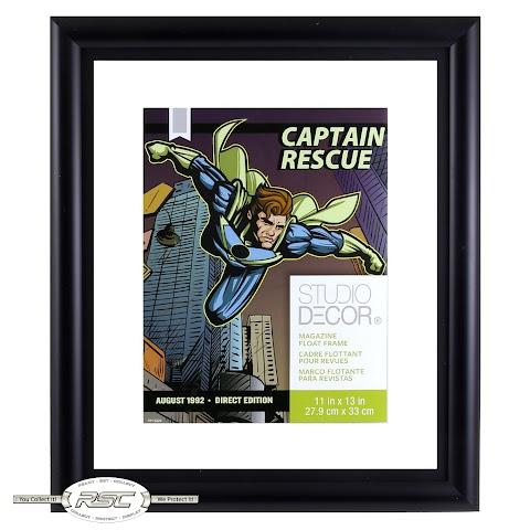 Comic Book Magazine Float Frame