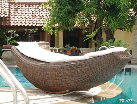 outdoor rattan furniture design