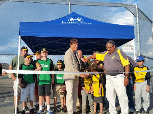 Grand Opening for William McCulloch Park Baseball Diamonds