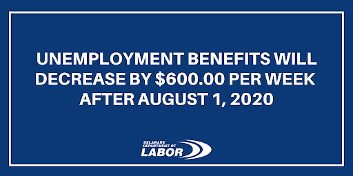 Avatar of Unemployment Benefits Will Decrease By $600 Per Week After August 1, 2020