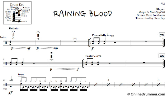 Raining Blood - Slayer