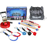 B4 Adventure Slackers NinjaLine 30' Intro Kit with 7 Hanging Obstacles
