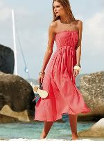 Victoria's Secret Strapless dress in solids