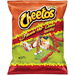 Cheetos Cheese Flavored Snacks, Flamin' Hot Limon Flavored, Crunchy - 8.5 oz