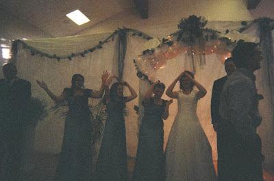 Bride and Bridesmades