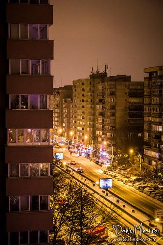 Saturday night in Bucharest by Daniel Mihai