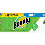 Bounty Paper Towels, Double Rolls, Select-A-Size, 2-Ply - 4 rolls