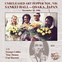 Unreleased Art Pepper Volume VII