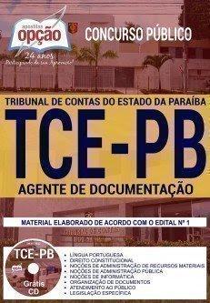 Apostila TCE PB AGENTE DE DOCUMENTAÇÃO