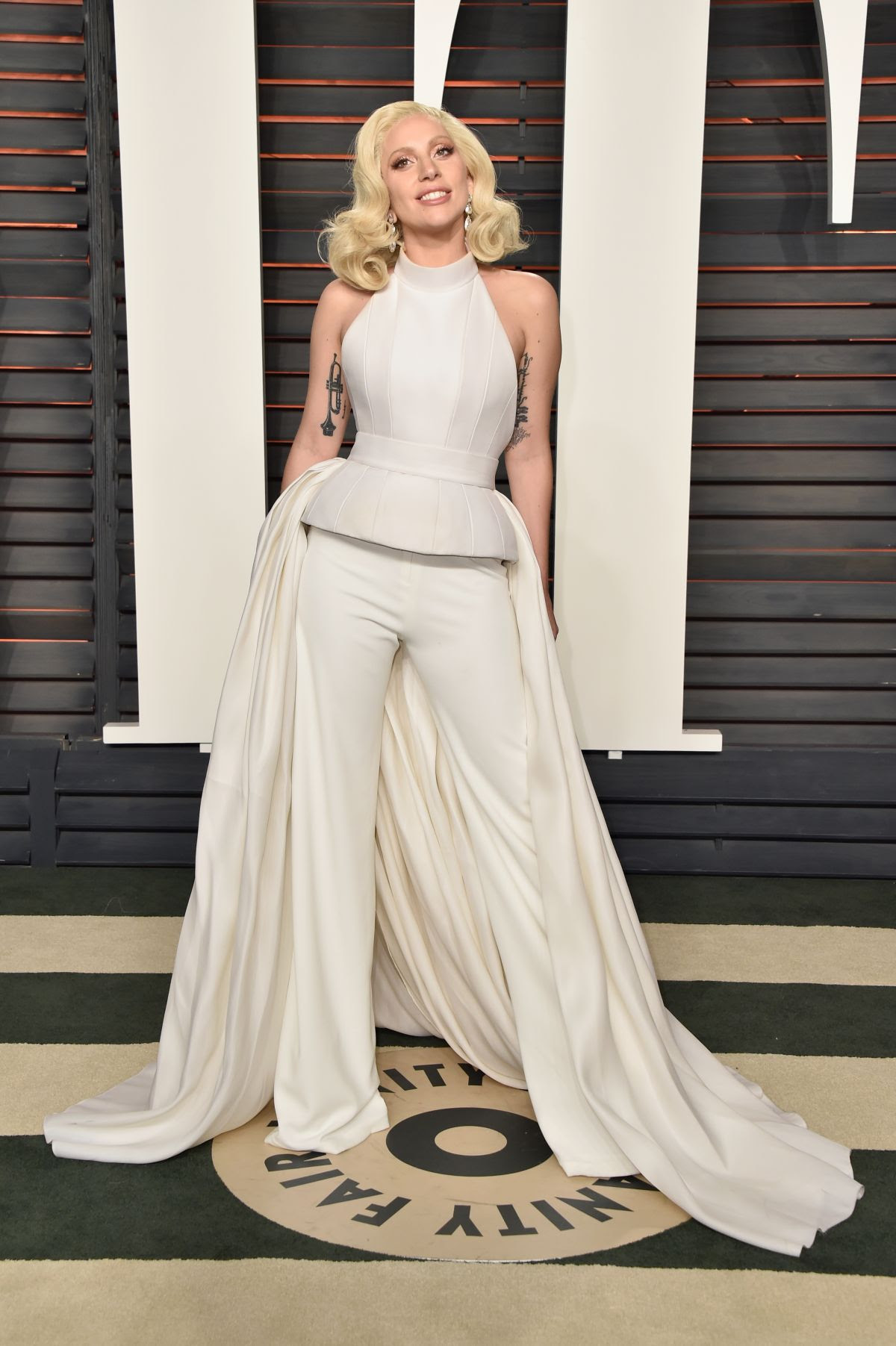 LADY GAGA at Vanity Fair Oscar 2016 Party in Beverly Hills 02/28/2016