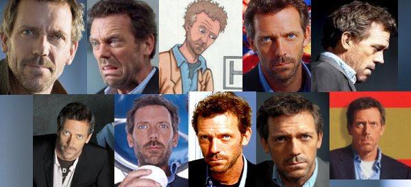 As várias faces do Dr. House