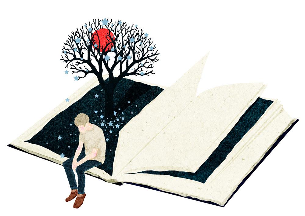 Moon book illustration by Xuan loc Xuan4