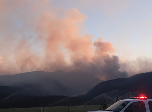 Observation fire continues to grow to 1,200 acres