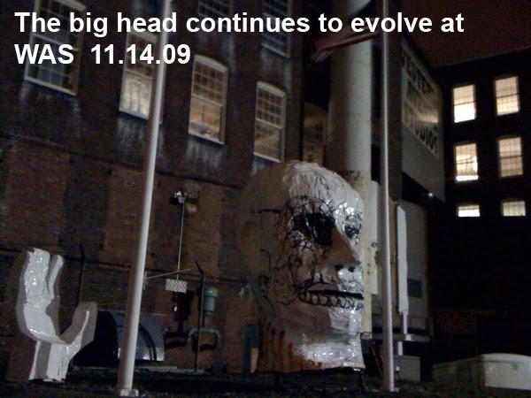 Big Head at Western Ave