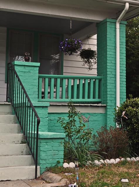 Turquoise Porch