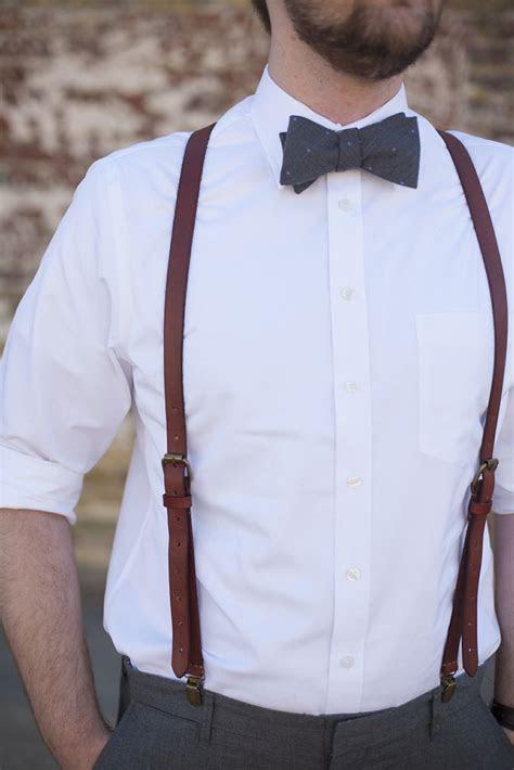 groomsmen bow ties tiebarcom leather suspenders