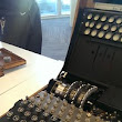 Wow, got to see an Enigma Machine today!