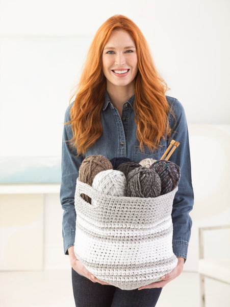Midland Basket  Crochet Pattern