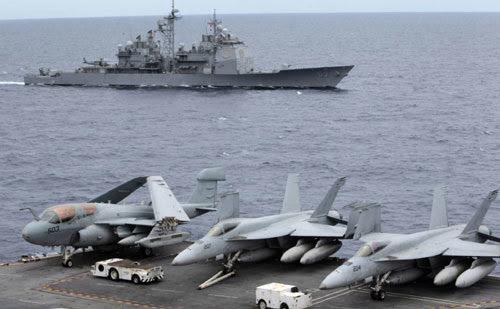 Trung Quốc, Mỹ, hải quân, tàu chiến, Hoa Đông, Nhật Bản, Biển Đông, Senkaku, tàu sân bay