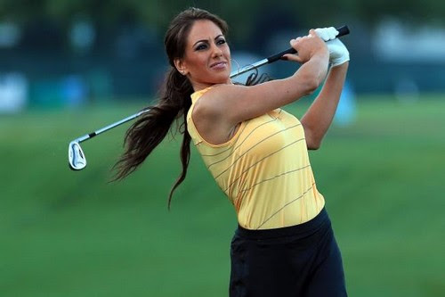 Sexy Golfer Holly Sonders