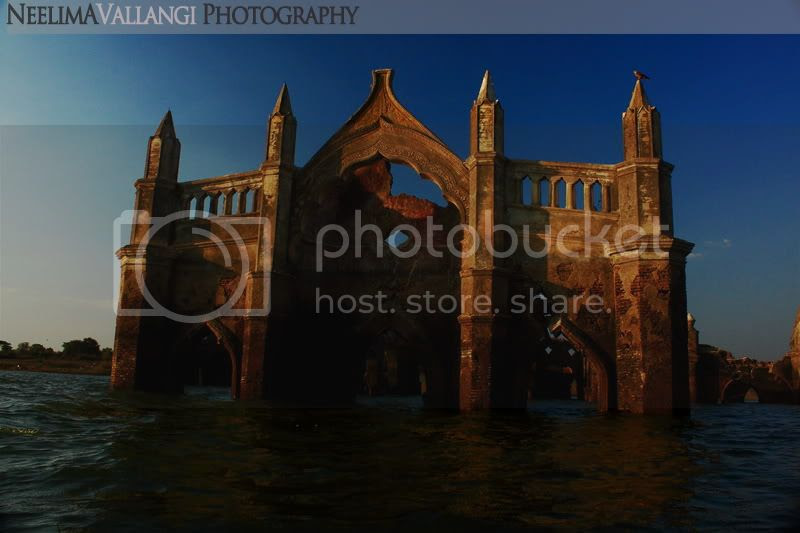 Shettihalli church submerged in water