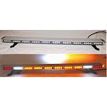 "50"" Amber LED Light Bar Flashing Warning Emergency Light w/ Cargo Brake Lights LED Driver"