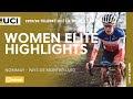 Vídeo resumen de la Copa del Mundo de ciclocross femenina de Nommay 2020