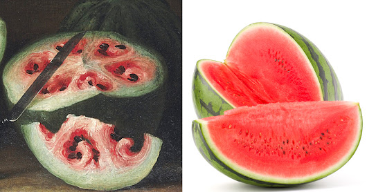 A Renaissance painting reveals how breeding changed watermelons