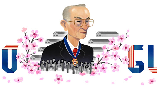 Fred Korematsu Google doodle honors Japanese internment camp survivor & civil rights activist