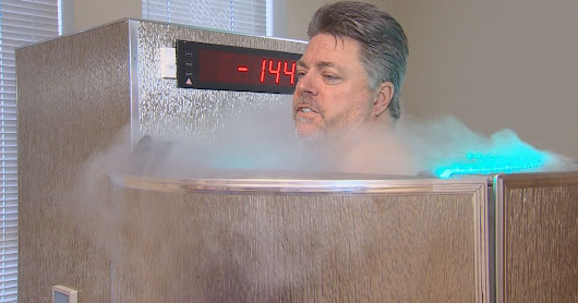 Cyrotherapy treatments use quick freeze to soothe inflammation