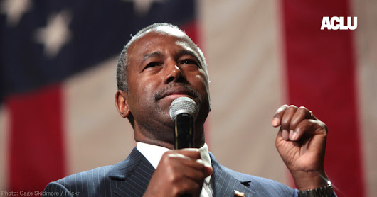 We're Suing Ben Carson for Trying to Dismantle the Fair Housing Act