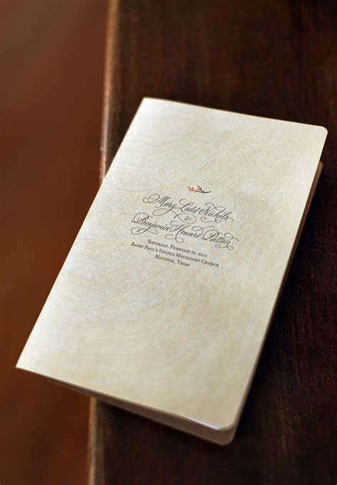 Mary   Ben's Elegant and Rustic Day of Wedding Stationery