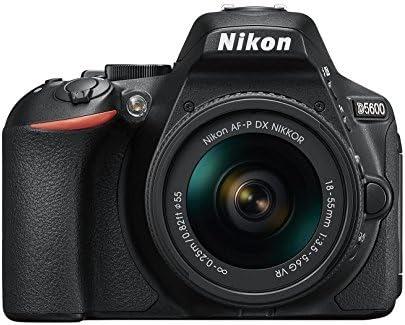 Nikon D5600 + AF-P 18-55 VR DSLR Digicam - Black