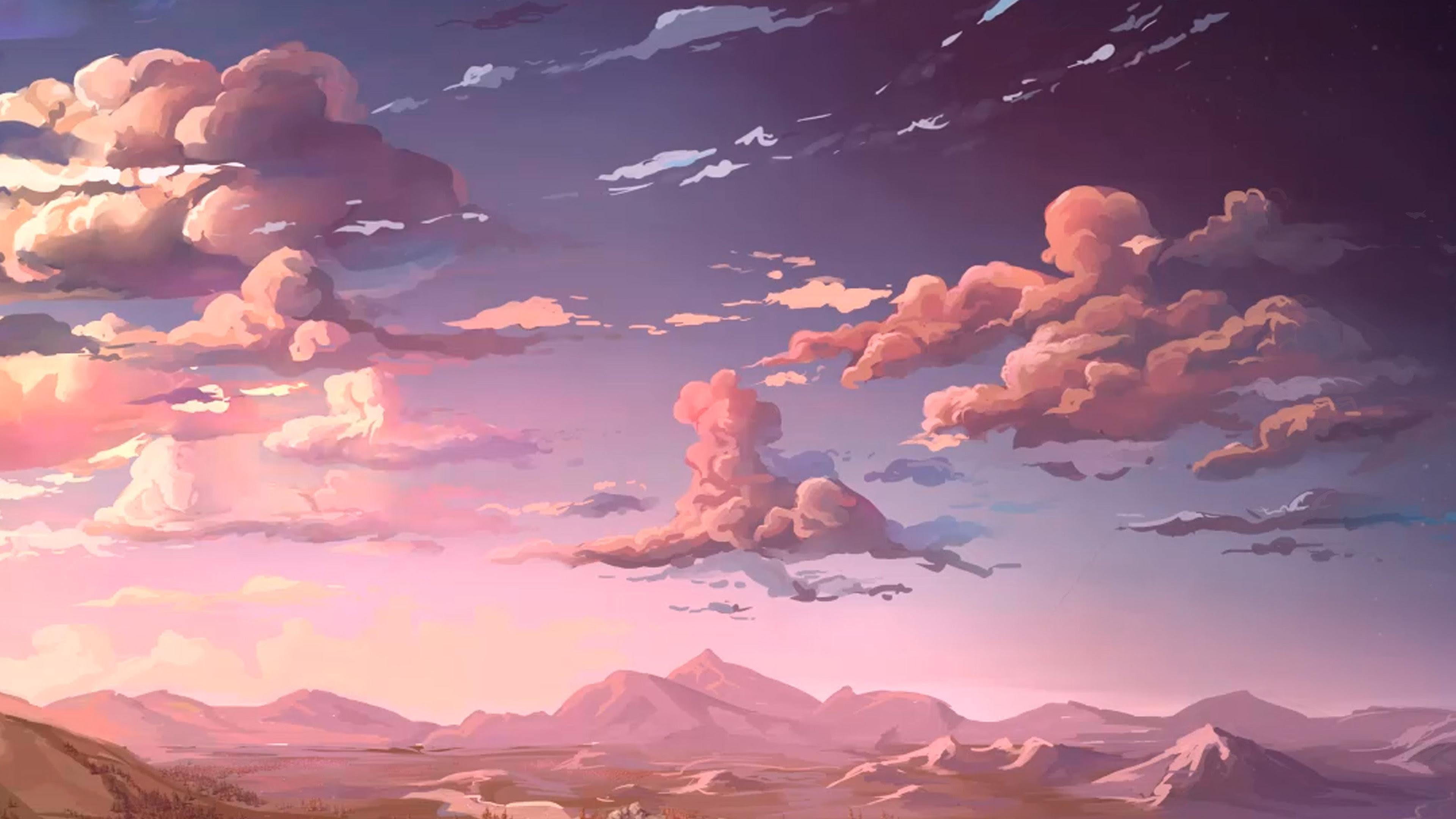 Materi Pelajaran 8 Anime Landscape Wallpaper 4k