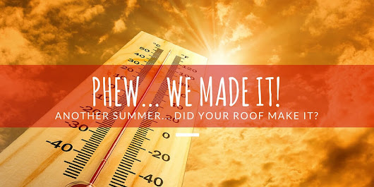 Make it through another summer - Rainbow Roofing Solutions