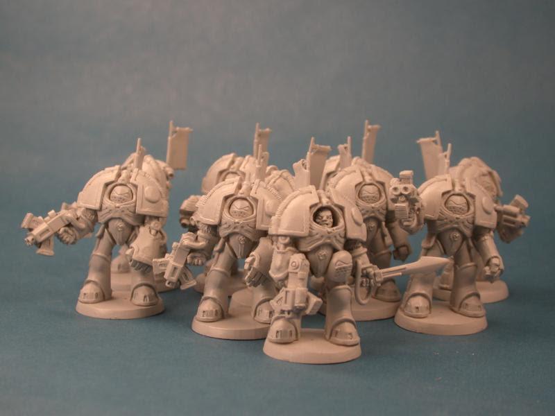Jes Goodwin, Mark I, Rogue Trader, Sergeant, Space Marines, Stormbolter, Terminator Armor