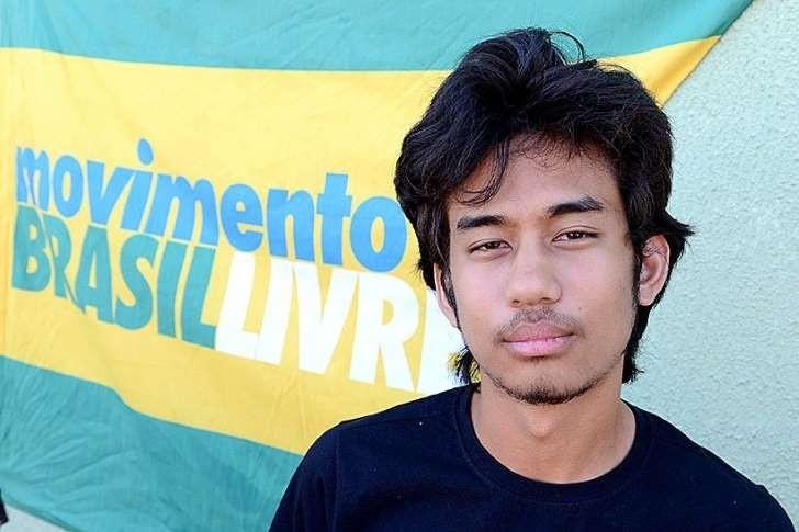 Adolescente Brasileiro na lista dos 30 mais influentes do mundo no assunto poltica