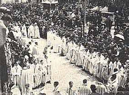 procesion del Corpus Christi de Toledo en 1946